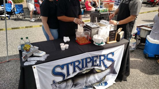 Stripers Bar and Grille: Great job doing Taste of OBX Chowder Event
