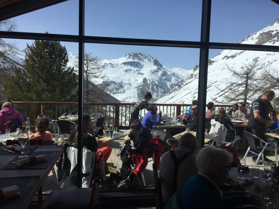 Photo of French Restaurant L'Edelweiss at Le Fornet, Val d'Isère, France