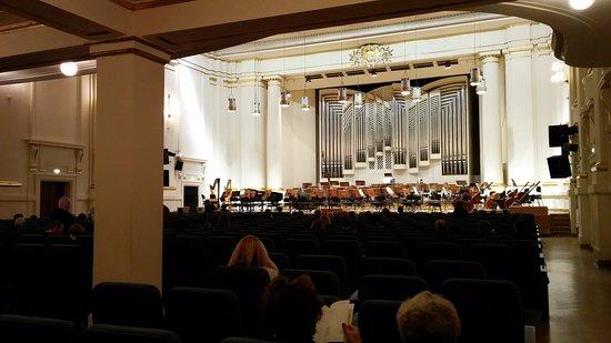 Filharmonia im. K. Szymanowskiego w Krakowie: large concert hall with moderated audio experience