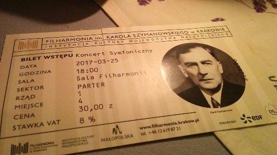 Filharmonia im. K. Szymanowskiego w Krakowie: an amazing night with Janusz Wawrowski