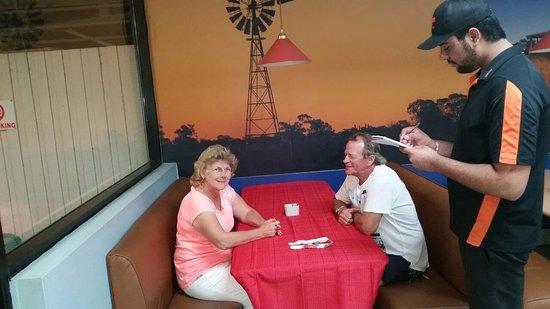 Goondiwindi, Australia: Special Dining table Service