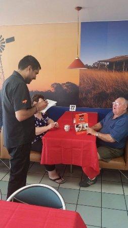 Goondiwindi, Australia: Table orders
