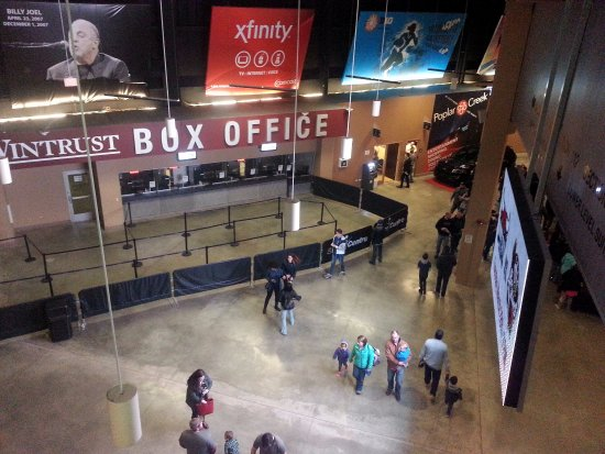 Hoffman Estates, IL: interior lobby of the Sears Centre Arena