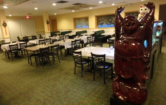 Fairborn, OH: Flying Tiger Dining Room with Buddha