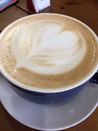 San Bruno, Californien: Coconut Latte