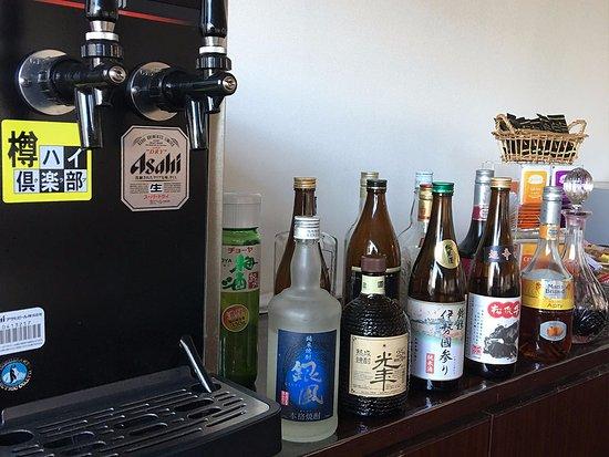 Matsusaka, Japan: ウェルカムドリンクのビールサーバーが新しくなりました。(酎ハイも注げます!)