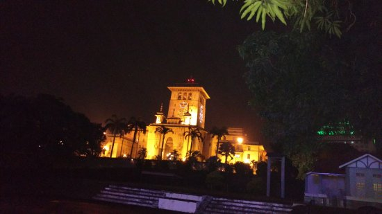 Johor Bahru State Place: The Palace in The Night