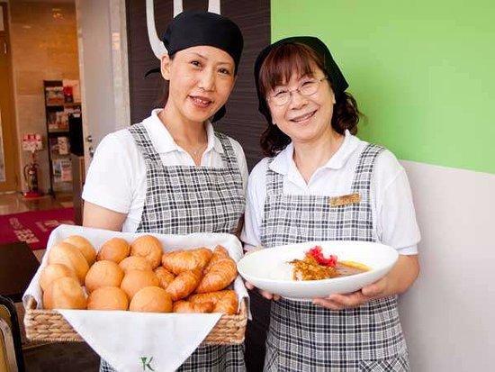 Kosai, Japonya: 朝食スタッフが真心を込めて提供をしてございます。