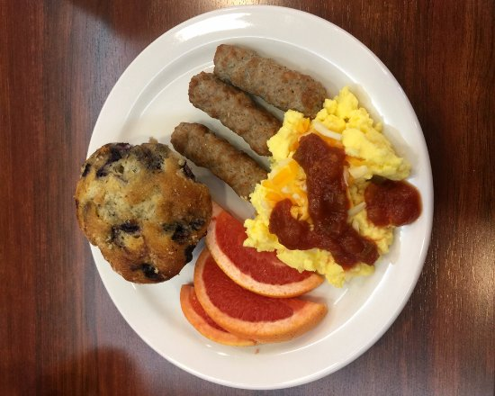 Belleville, Canadá: Complimentary Breakfast