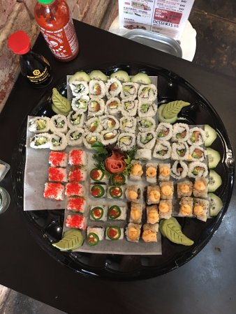 Mount Pleasant, TX: Sushi Platter for Any Occassion