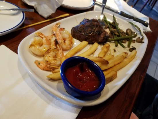 Warren, MI: shrimp and sirloin
