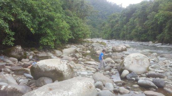 Orosi, كوستاريكا: El río.