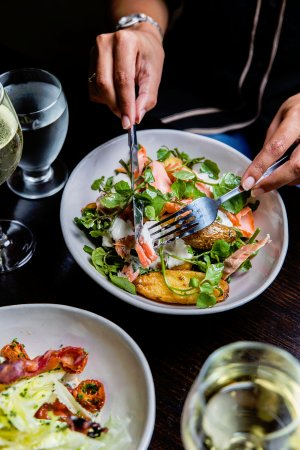 Greater Sydney, Australia: Potts Point Hotel Smoked Trout Salad