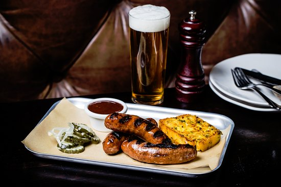 Greater Sydney, ออสเตรเลีย: Potts Point Hotel - Andouille Louisiana Sausage