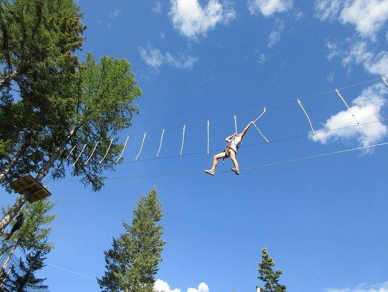 Whitefish Mountain Resort : Aerial adventure park, requires endurance
