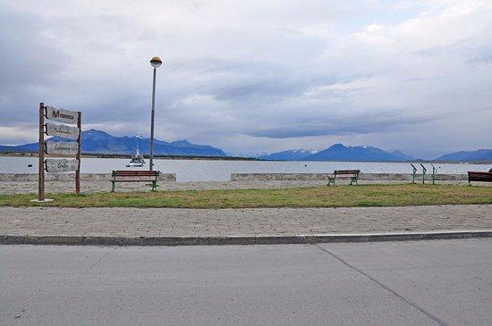 Hostal Francis Drake: La costanera esta a una cuadra y permite pasear