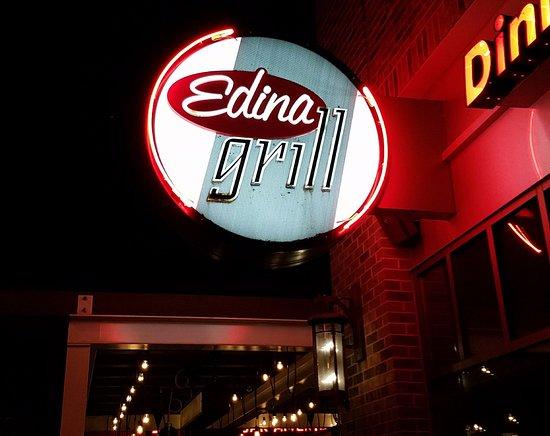 Edina, MN: Front sign