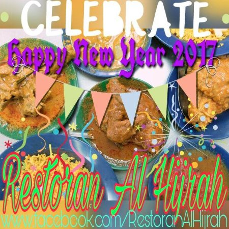Gelugor, Malaysia: Happy New Year 2017 from Restoran Al Hijrah
