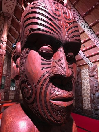 Waitangi Treaty Grounds: Carving