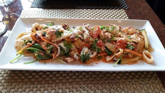 Bella Italia Ristorante: Lobster Ravioli, Bella Italia Sun Peaks