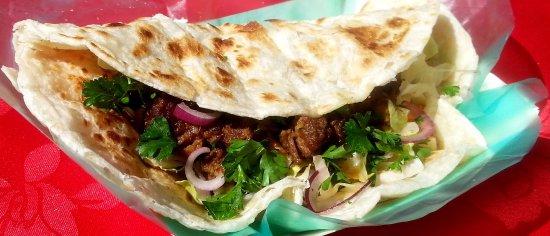 Malaysia Delights Street Food: Beef Rendang Wrap