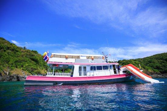 """Wichit, Thailand: Корабль для дайвинга и морских развлечений для всей семьи по программе """"Дайвинг плюс"""""""