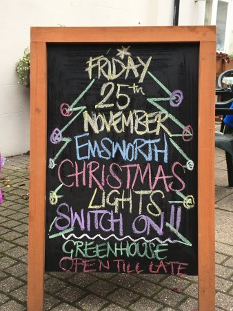 Emsworth, UK: Greenhouse Cafe