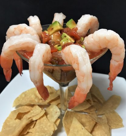 Orland, CA: Mexican Shrimp Cocktail