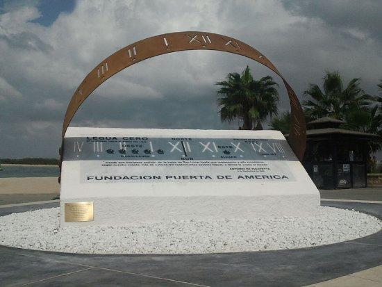 Sanlucar de Barrameda, إسبانيا: Monumento circunnavegación