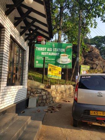 Kegalle, Sri Lanka: The restaurant