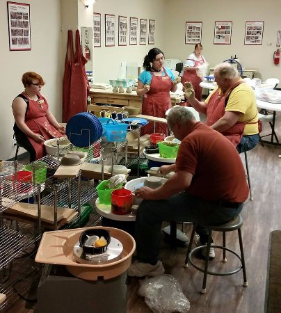Ogres-Holm Pottery: Open Studio every Tuesday night!