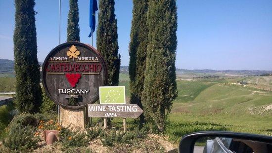 Terricciola, Italia: L'arrivo