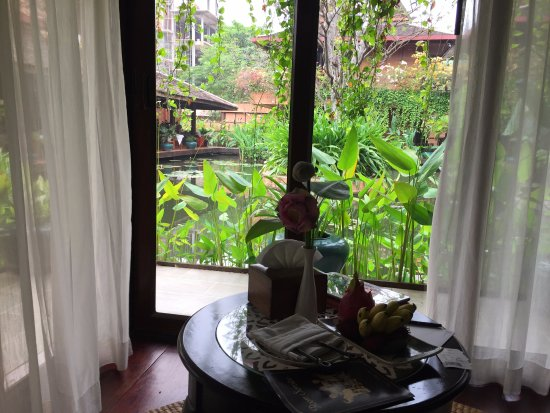 Angkor Village Hotel: Blick mit Water View