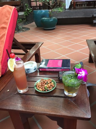 Angkor Village Hotel: nette Drinks
