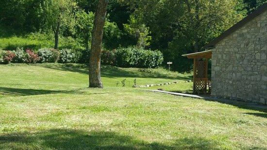 Badia Tedalda, Italy: Il giardino