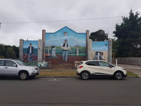 Sheffield, Australia: One of many murals