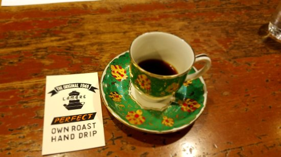 Photo of Cafe Cafe de Lambre at 銀座8-10-15, Chuo 104-0061, Japan