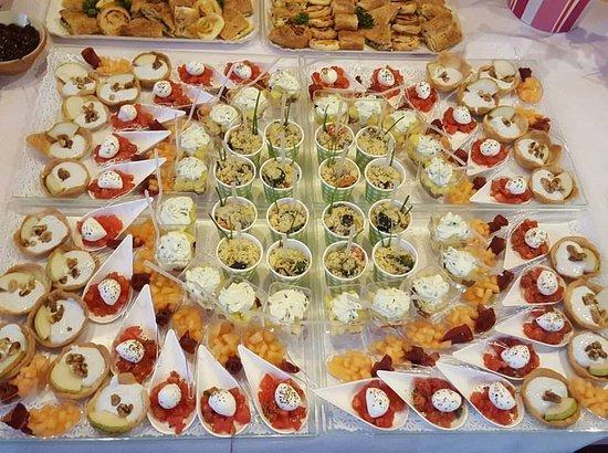 Artéteca Bistrot: Buffet finger food