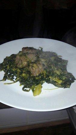Broccoletti e salsiccia...Mazzano Romano