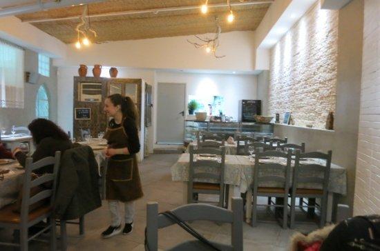 Grândola, Portugal: Inside the Restaurant