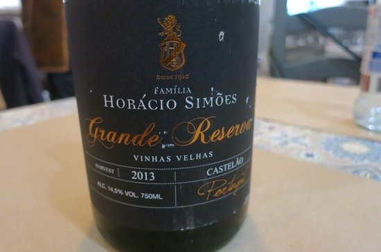 Grândola, Portugal: Perfect red wine