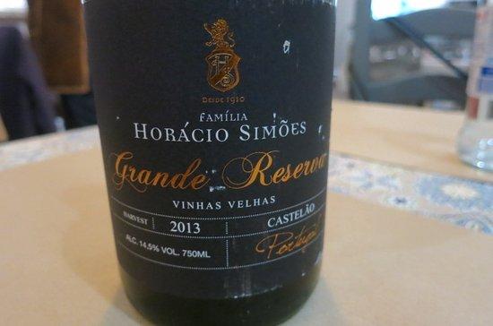 Grandola, Portugal: Perfect red wine