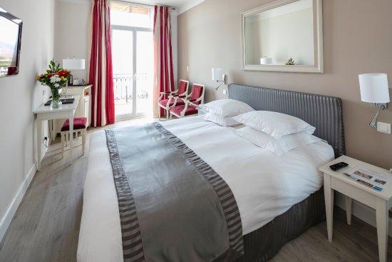 Hotel Suisse: Chambre supérieure avec vue mer et balcon