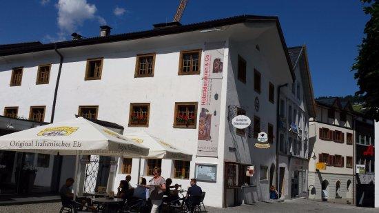 Das Montafoner Heimatmuseum am Kirchplatz in Schruns