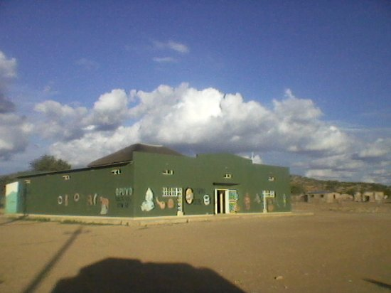 Opuwo north Namibia is we you can found Kaoko information centre .