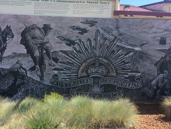 Sheffield, Australia: Anzac Mural