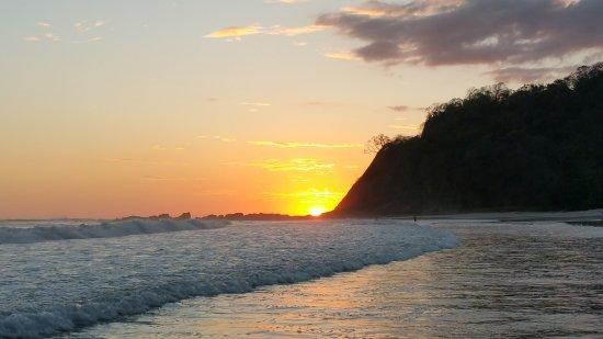 Playa Samara, Costa Rica: Sunset