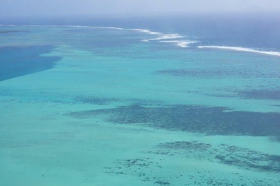 Riviere du Rempart: vue 1 des lagons au retour