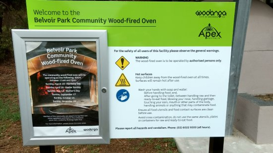 Wodonga, Australia: Community Pizza Oven dates