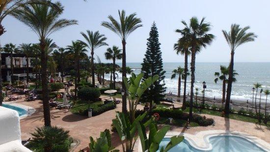 H10 Estepona Palace : notre arrivée avec le soleil pour toute la semaine